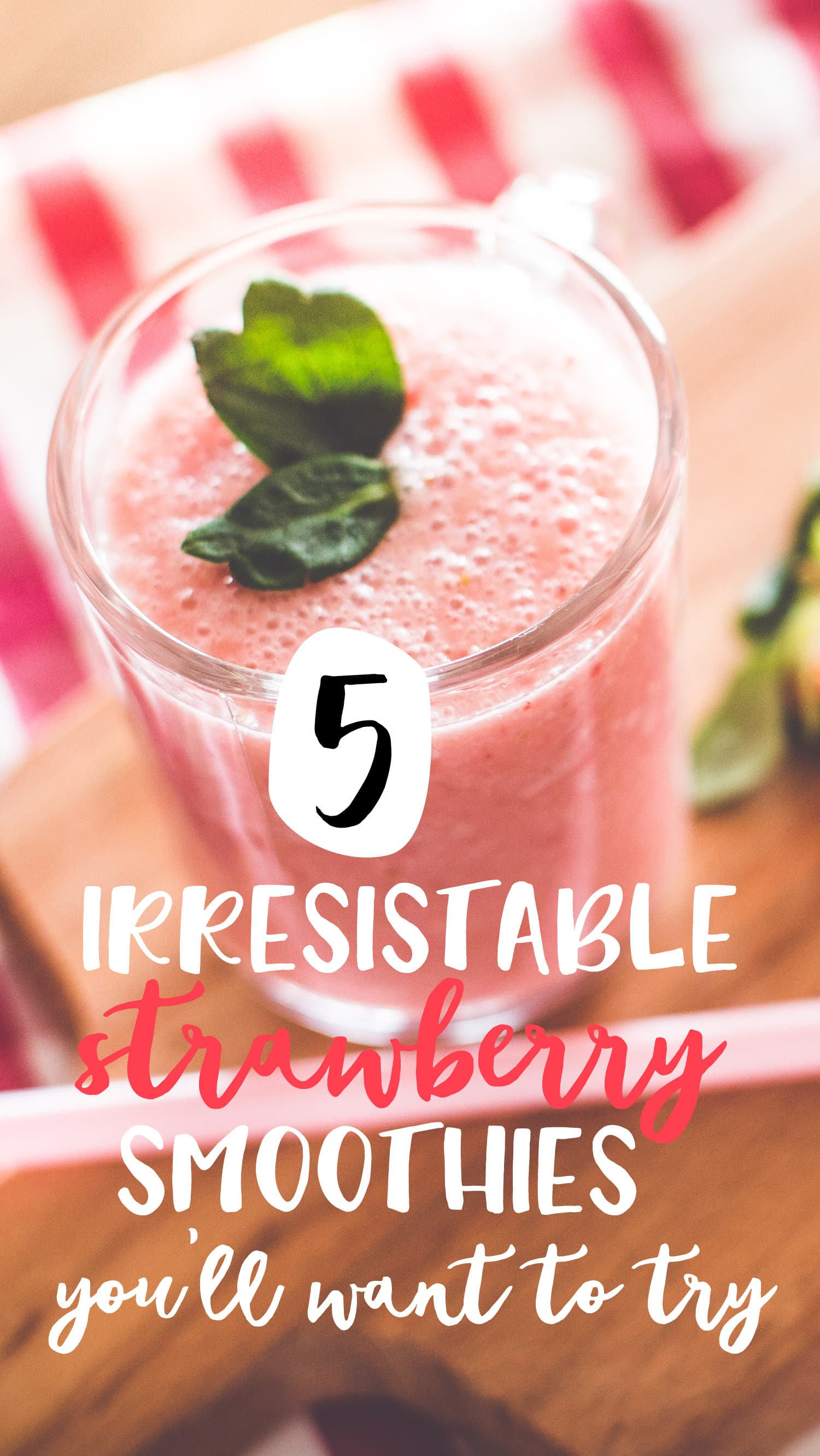 strawberry smoothie recipes