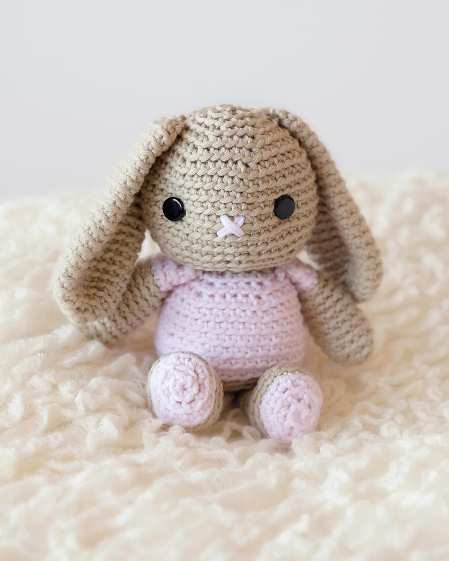 cute Amigurumi bunny