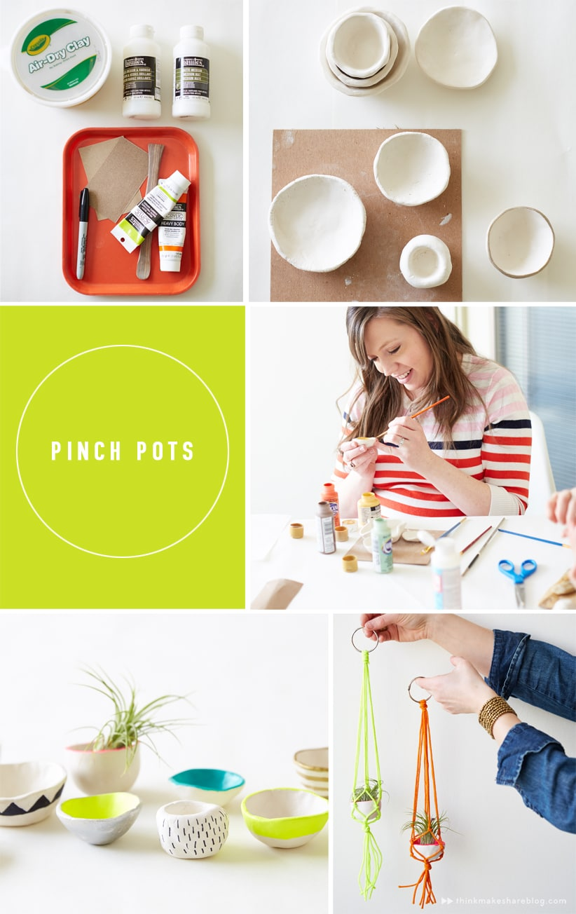 So many great ideas with air dry clay. I want to make them all!