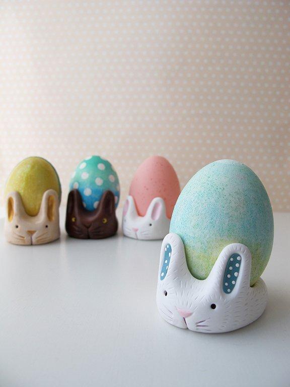 polymer clay bunny craft