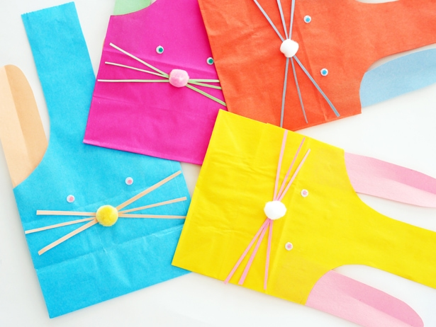 Love these bags for Easter treats. Lots of great bunny craft ideas here.