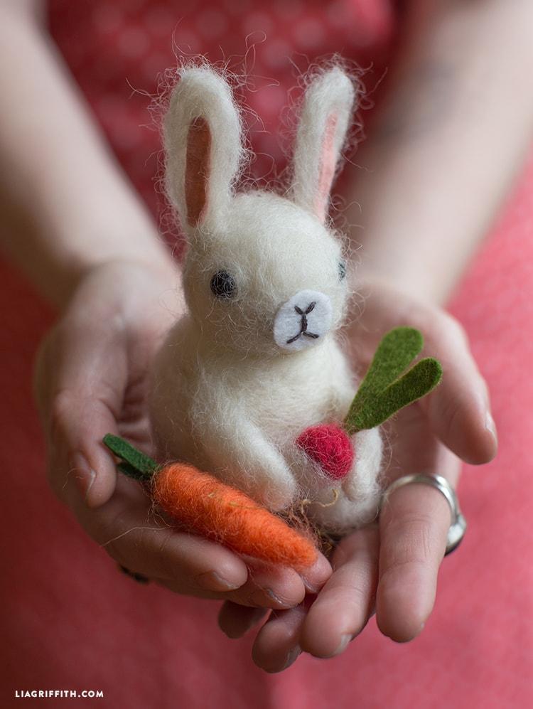 felted bunny tutorial