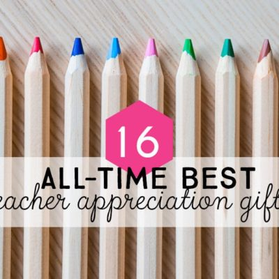 All-time Best DIY Teacher Gifts: Fun Teacher Appreciation Gifts You Can Make