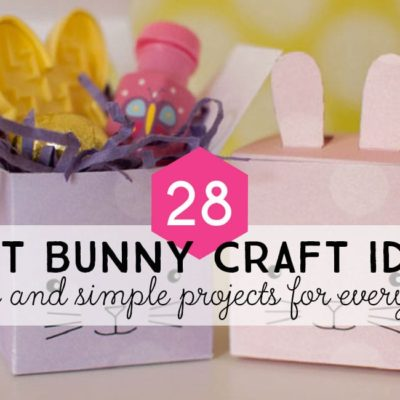 Over 25 Bunny Craft Ideas and DIY Projects