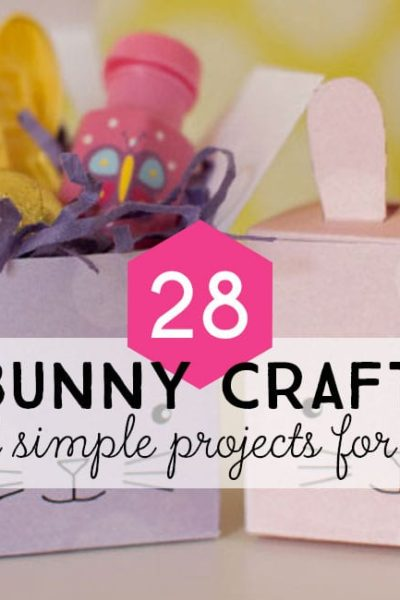 post header: Over 25 Bunny Craft Ideas and DIY Projects