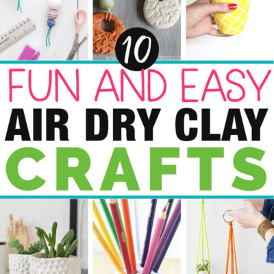 10 Things to Make with Air Dry Clay: Fun and Beautiful Projects