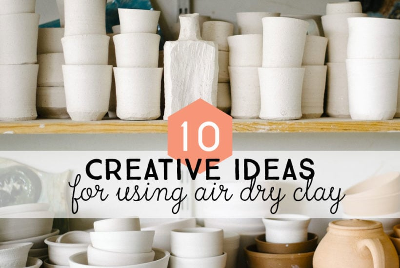 Post Header: 10 Things to make with air dry clay