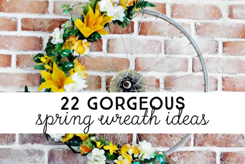 22 DIY Spring Wreath Ideas You Must See Before You Make Your Own