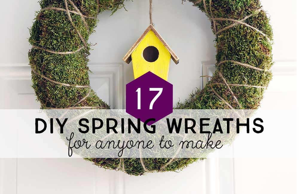 17 DIY Spring Wreath Ideas You'll Want to Make Today