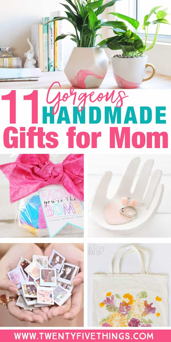 Things to Make for Mother\'s Day: 11 Gorgeous Handmade Gifts for Mom ...