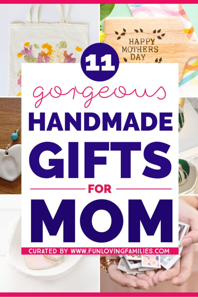These handmade gifts for mom are perfect for Mother's day gift ideas.