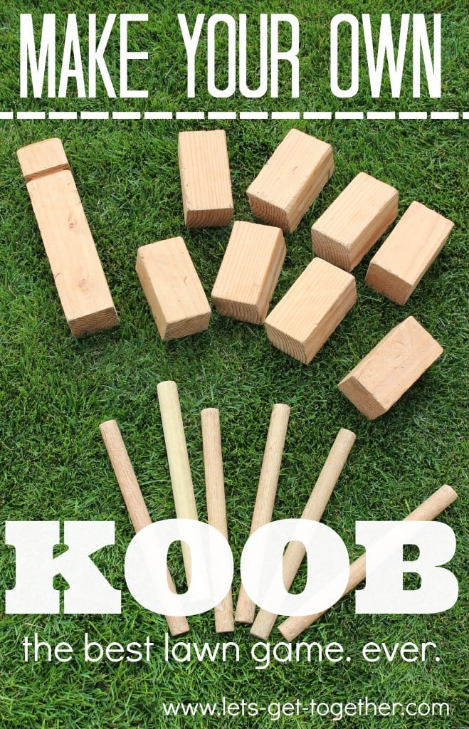 Make Your Own KOOB Game Plus Really Great Ideas For Fun DIY Backyard Party Games