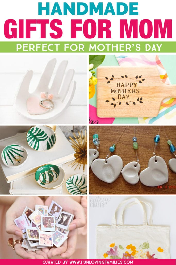 I love these DIY Mother's Day gift ideas that are actually doable. Mom will cherish these special, personalized mother's day gifts. #mothersday #mothersdaygifts