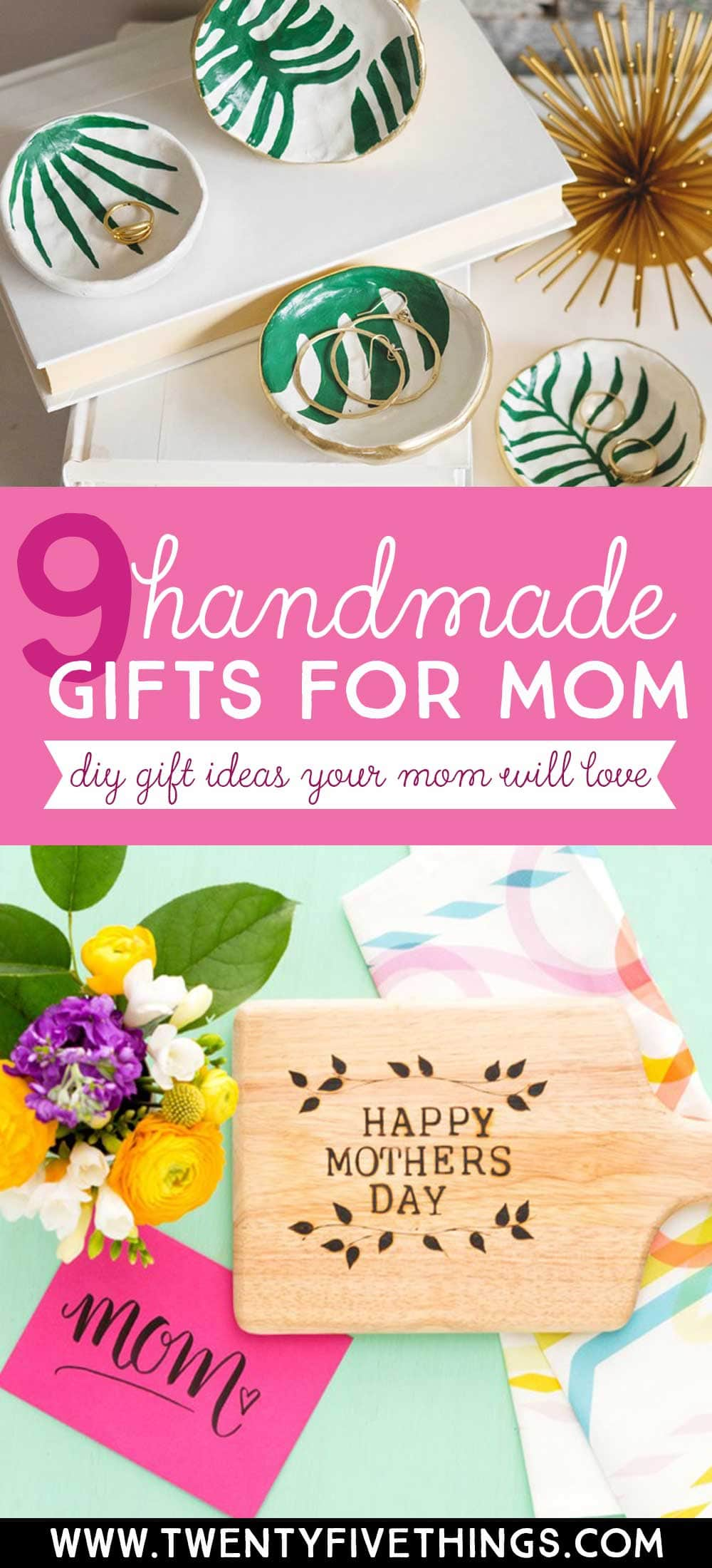 9 handmade gift ideas for mother's day