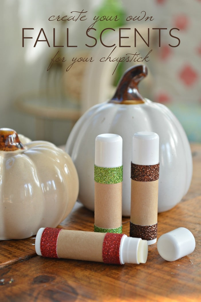 25 diy spa treatments for a relaxing fall spa day at home make these diy fall scented lip balms for yourself or diy spa gifts for fall solutioingenieria Gallery