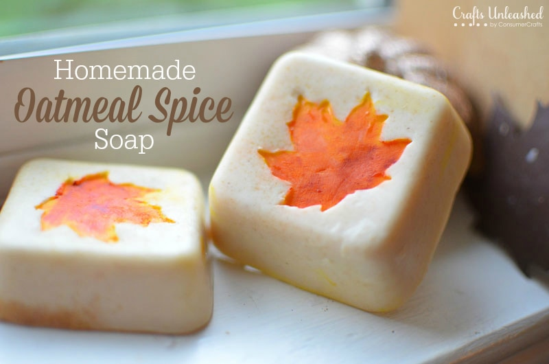 Learn how to make these beautiful homemade Fall soaps.