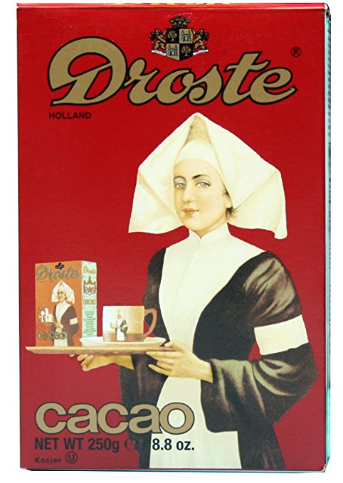 use Droste cocao for delicious hot cocoa
