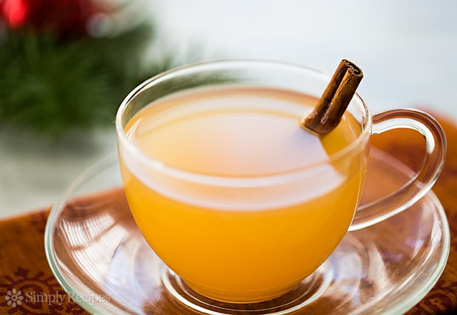 Make this delicious hot mulled cider for your next gathering, or a cozy night at home. So many great hot drink recipes here.