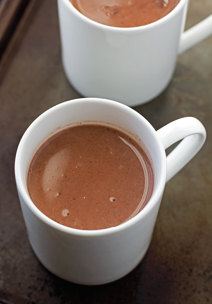 Homemade mexican hot chocolate, plus a ton of other amazing hot drink recipes to try