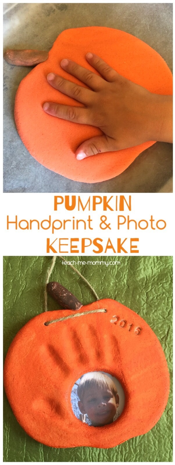 These kids Fall handprint crafts are so cute. Definitely want to make this adorable pumpkin photo frame this year.