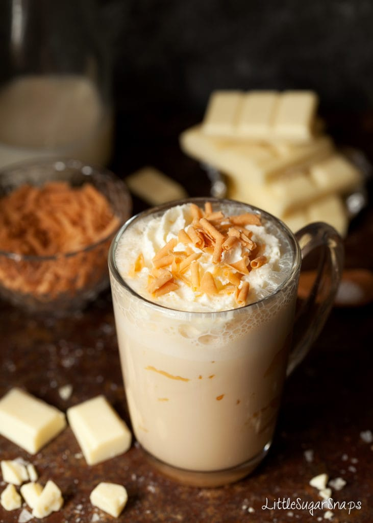Make this delicious white chocolate hot cocoa drink, plus many more must-try hot cocoa recipes