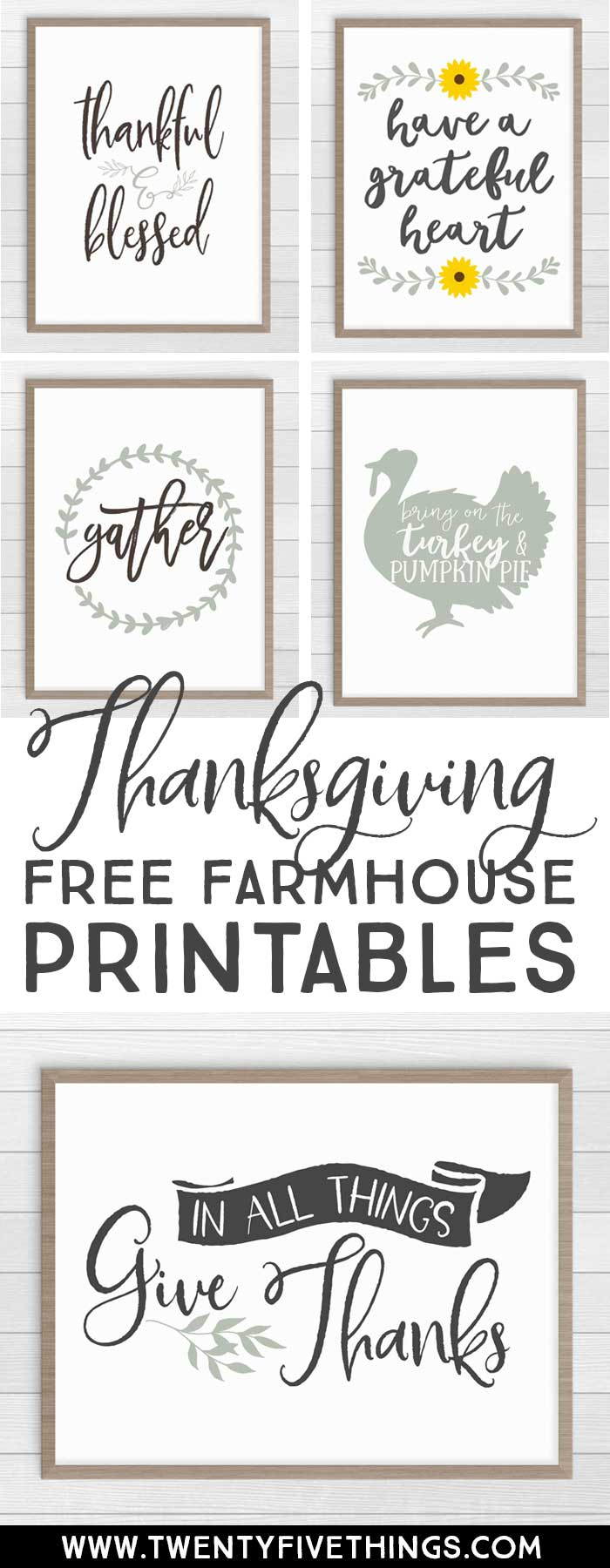 It is a picture of Critical Farmhouse Free Printables