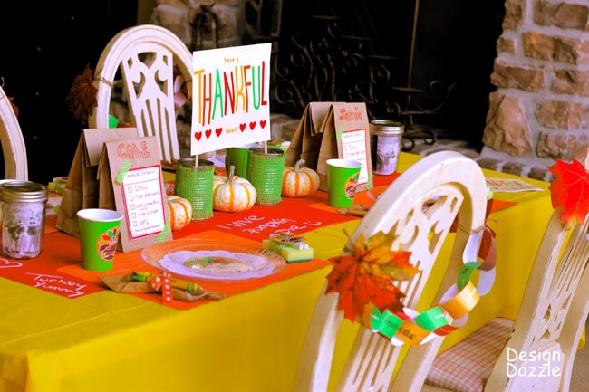 Thanksgiving Kids Table 25 Crafts Activities And Games