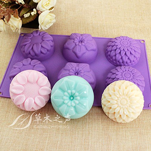 these soap molds are so pretty and perfect for homemade soaps