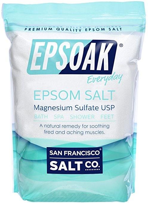 Soaking salts for DIY Spa Day at home