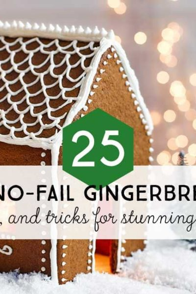 All the best info on making your gingerbread house. Includes recipes, inspiration, and pro tips for no-fail gingerbread houses. You won't believe how easy it is to make stunning gingerbread house creations.