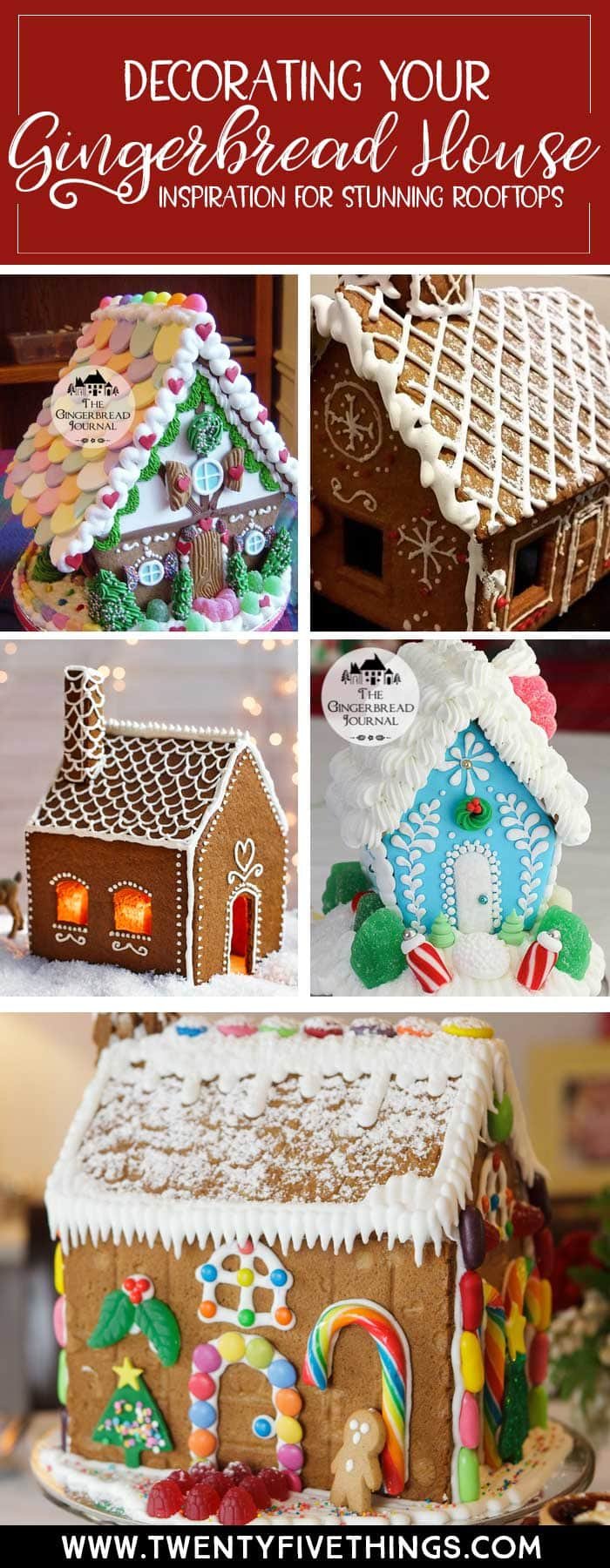 Create a no-fail gingerbread roof with these rooftop gingerbread house ideas and gingerbread house tips and tricks. Everything you need to know to make a stunning gingerbread house every time. #GingerbreadHouse #DIYChristmas #HolidayTraditions