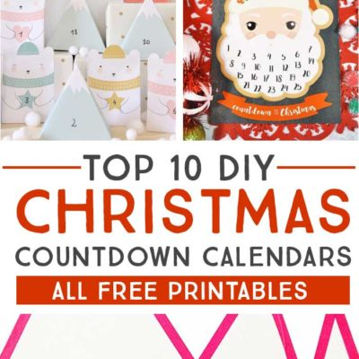 Top 10 DIY Printable Advent Calendar Ideas for Christmas Countdown Fun
