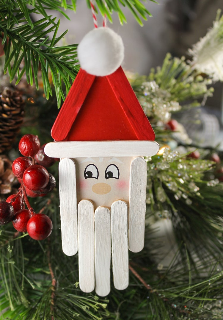 25 Fun and Easy DIY Popsicle Stick Ornaments - Fun Loving ...