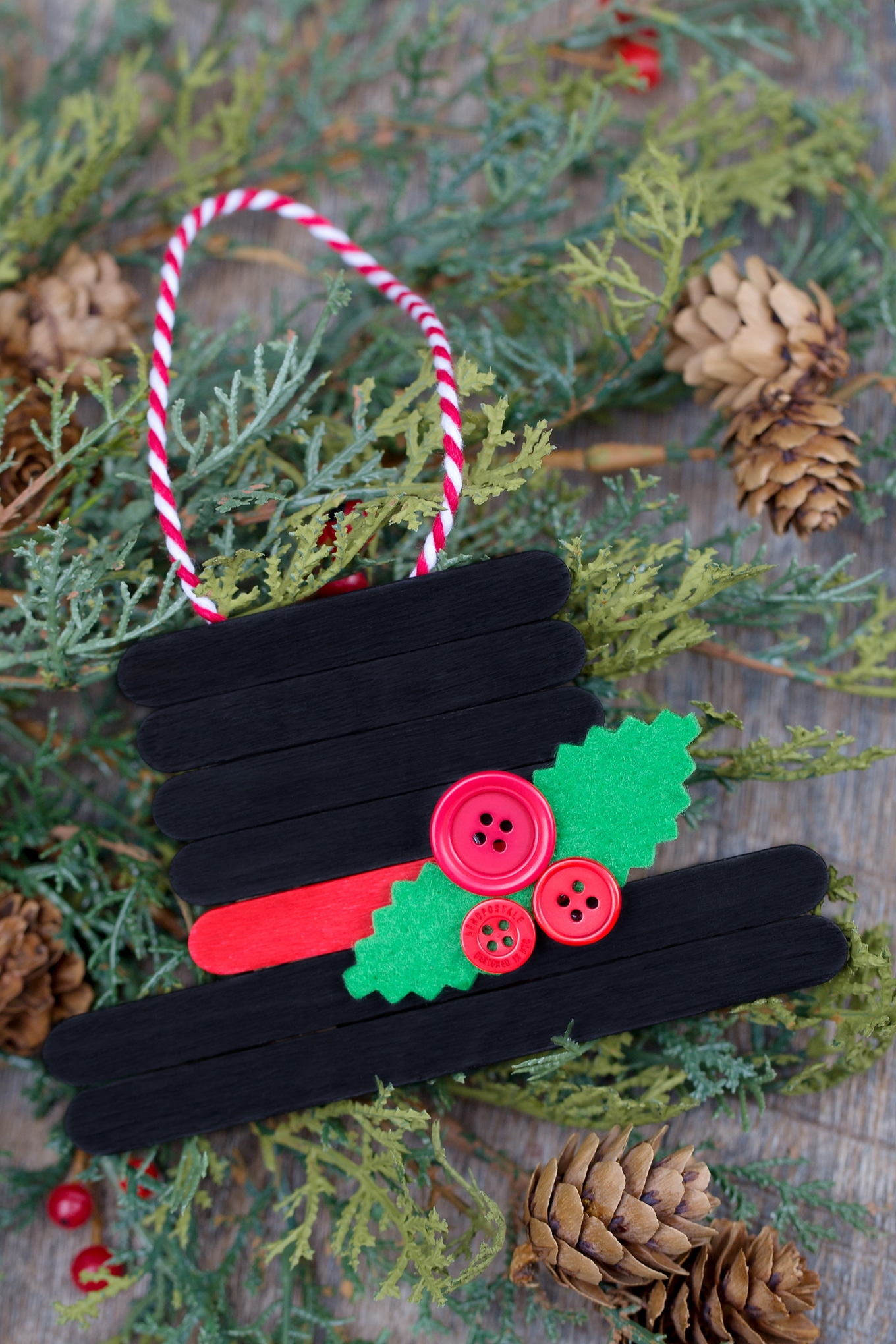 25 Fun And Easy Diy Popsicle Stick Ornaments Fun Loving Families