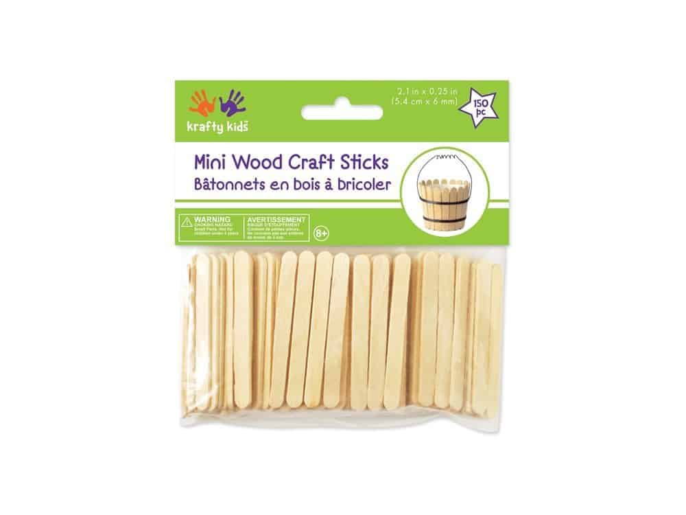 mini craft sticks for popsicle stick Christmas ornaments