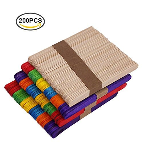 set of popsicle sticks for onament crafts