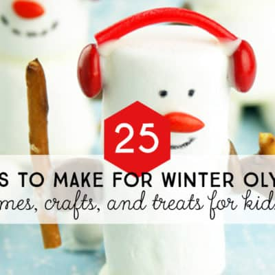 25 Winter Olympics games, crafts, and treats for kids.
