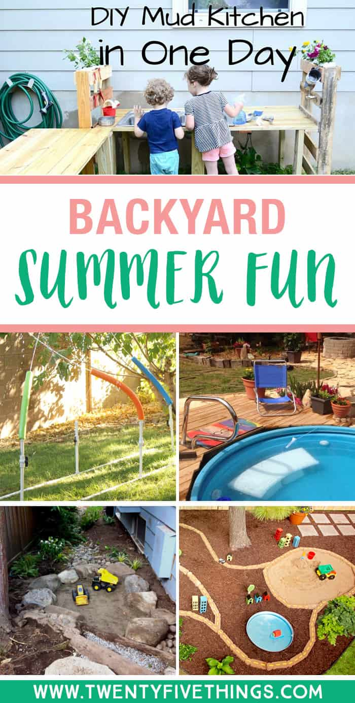Create Some Magical Backyard Summer Fun That The Kids Will Love. Click  Through To See
