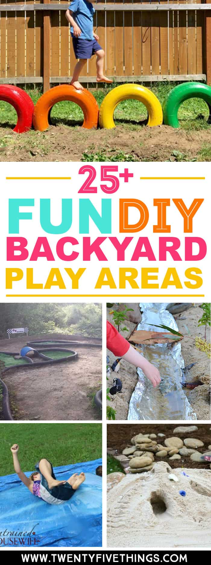 25+ Fun DIY Backyard Play Areas The Kids Will Love - Fun ...