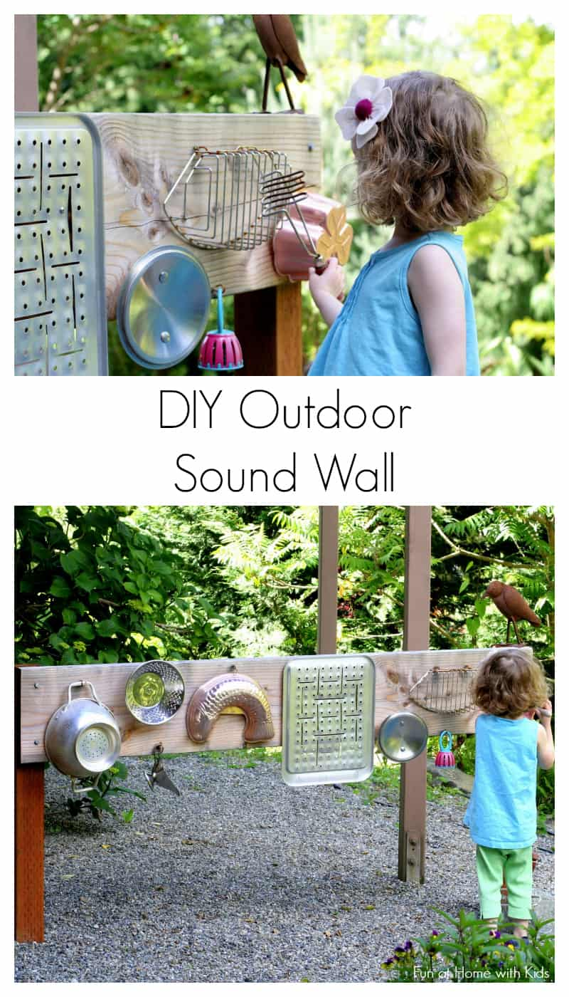 These are all things you can make yourself that will inspire play and creativity in kids. They won't want to leave the backyard with these additions to their outdoor play space! (via Fun at Home with Kids)
