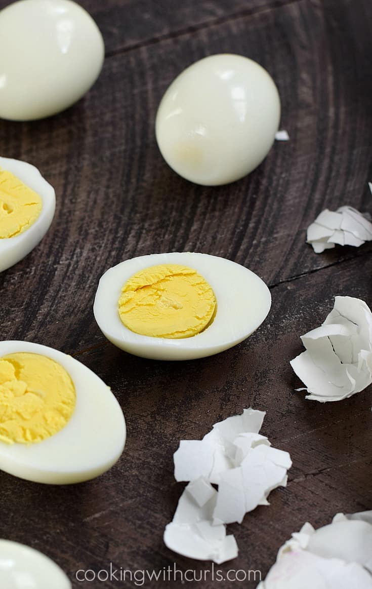 You can use your Instant Pot to make perfect hard boiled eggs every time. Click through to learn more ways to use your Instant Pot. #InstantPotRecipes