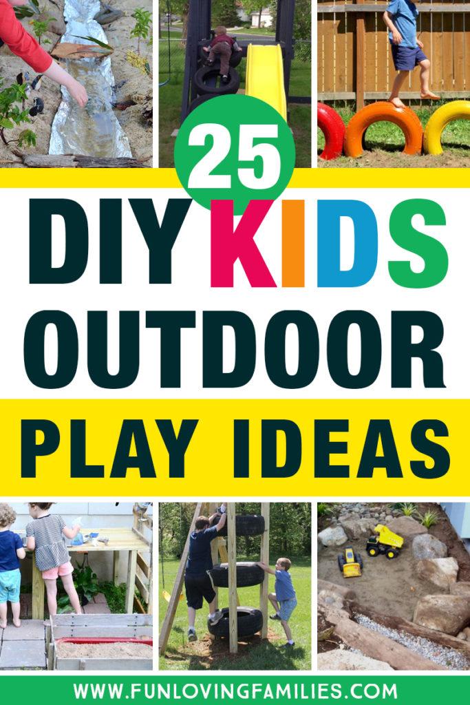 25 Fun Diy Backyard Play Areas The Kids Will Love Fun Loving Families