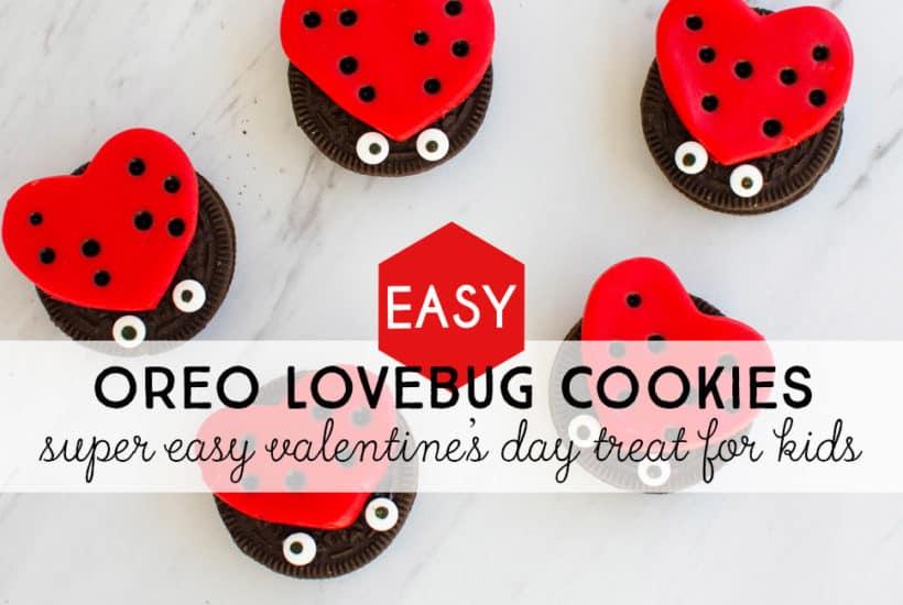 Easy DIY Oreo Love Bug Treats