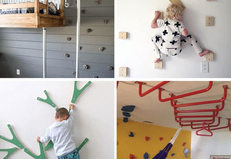 14 Genius DIY Climbing Spaces for Kids Indoor Play