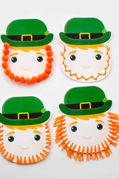 Use our free printable to create an easy leprechaun craft for kids.