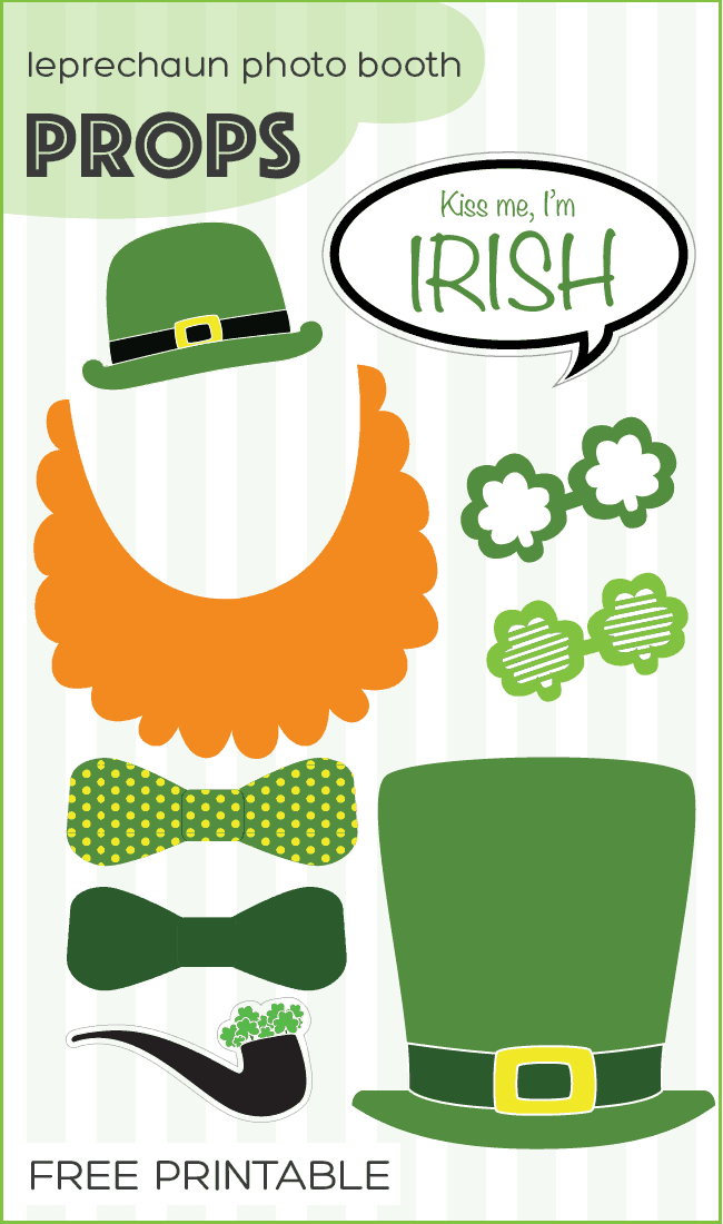 Bewitching image throughout leprechaun printable