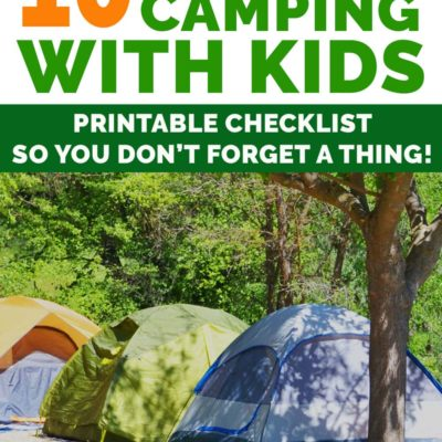 10 Family Camping Must Haves So EVERYONE Has Fun