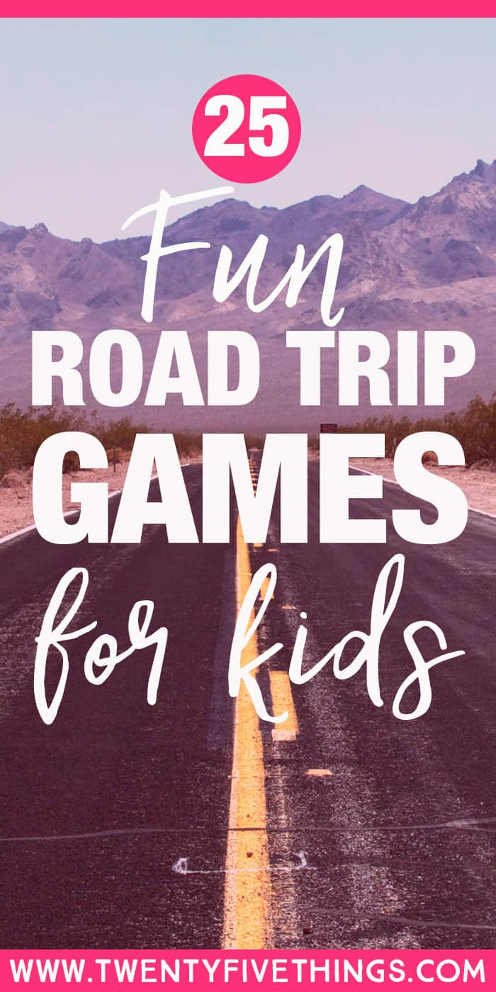 See our awesome list of fun road trip games for kids to take on your next long car ride. Something for everyone to keep the kids happy!