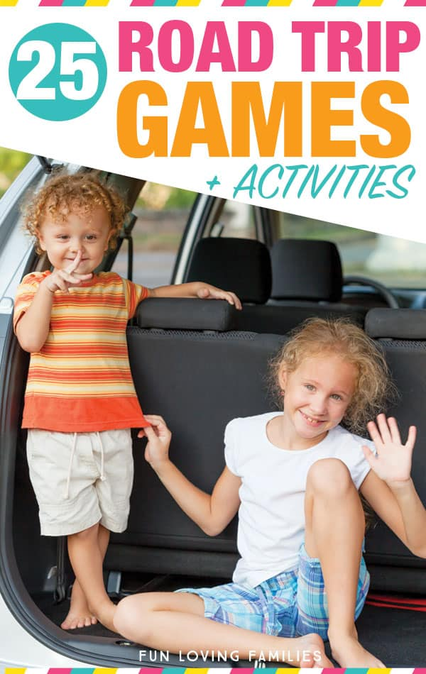 Try these fun, screen-free travel games for the kids to play on your big road trip this summer. #roadtrip #travelwithkids #kidsactivities #travelideas #games