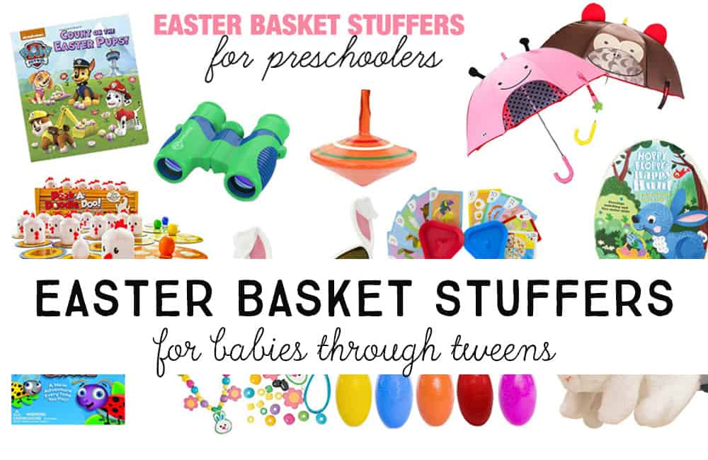 75 fun easter basket stuffers ideas for every age twentyfive disclosure some of these are amazon affiliate links which means i will earn a small commission if you purchase anything through these links negle Images